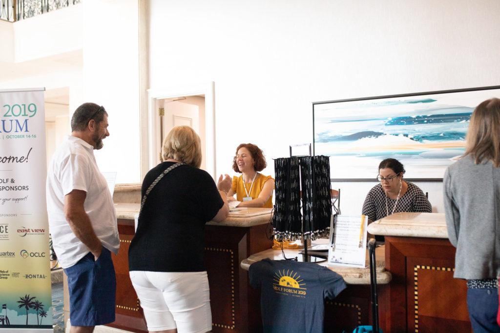 2019 Forum Registration Desk
